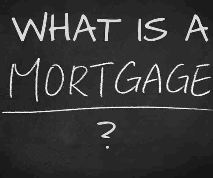 mortgage blackboard