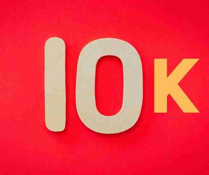 photo of 10k