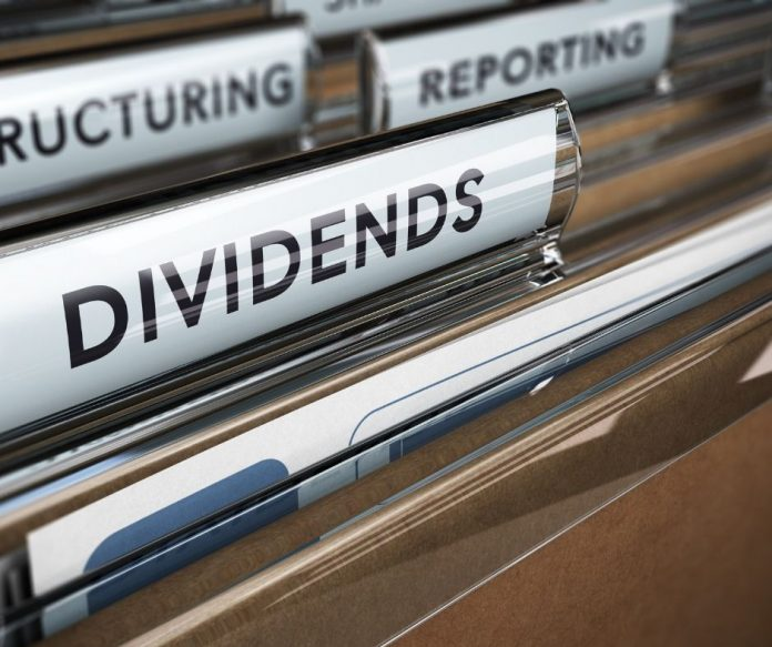 photo of dividend file