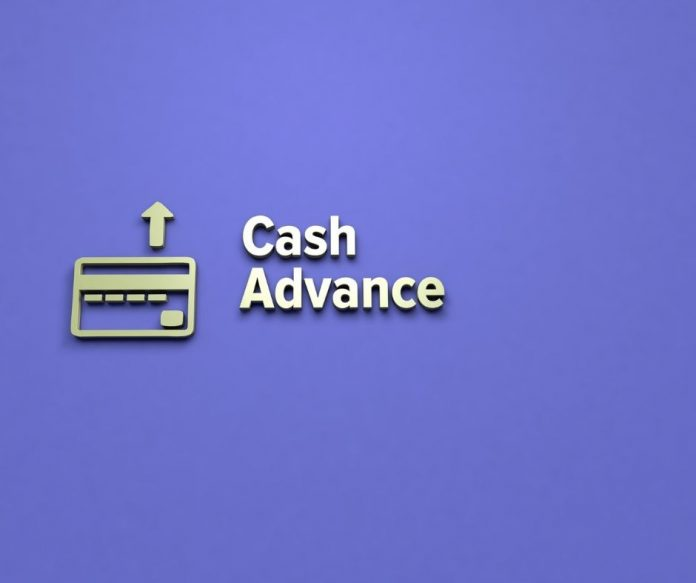photo of cash advance info