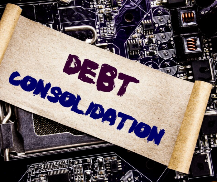 debt consolidation words